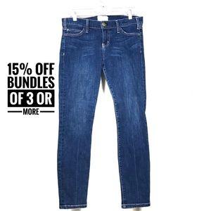 Current Elliot crop skinny jeans